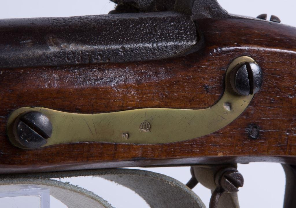 (19th c) PERCUSSION CAP MUSKET - 5