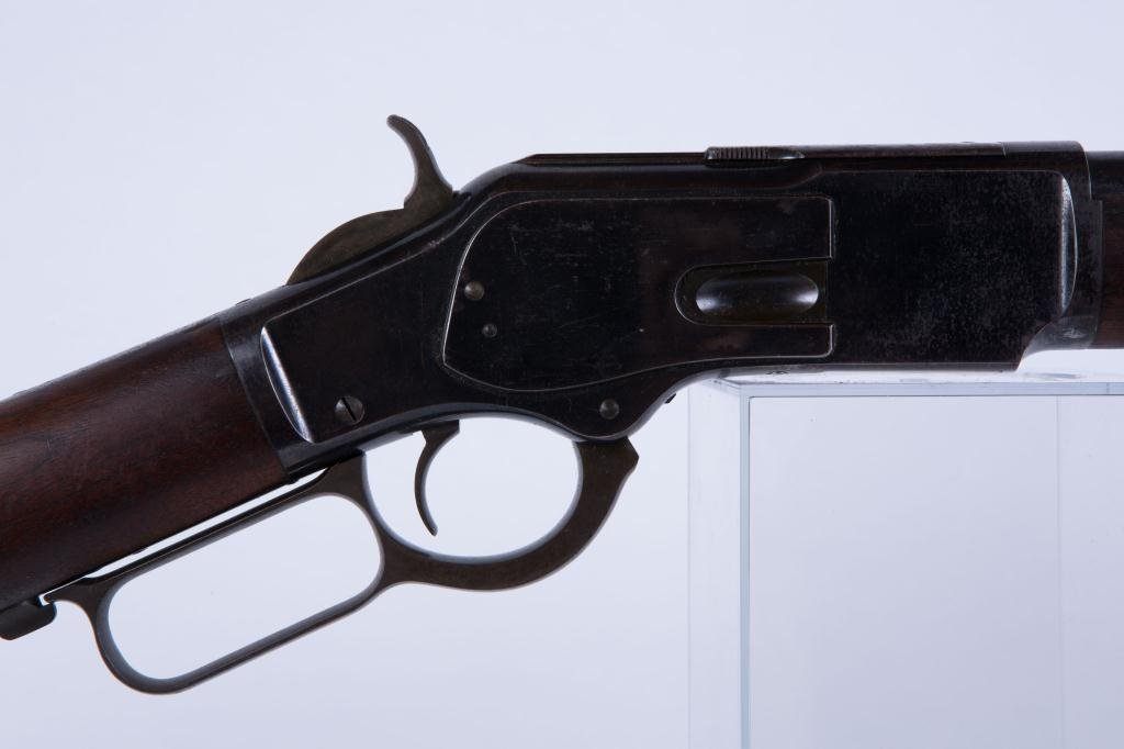 WINCHESTER MODEL 1873 ROUND BARREL RIFLE - 4