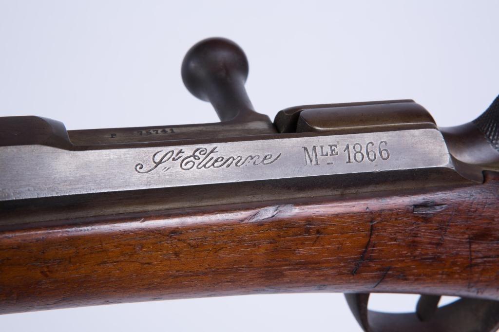 MODEL 1866 St. ETIENNE BOLT ACTION RIFLE - 3