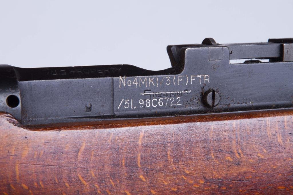 LEE-ENFIELD BOLT ACTION RIFLE NO. 4 - 3