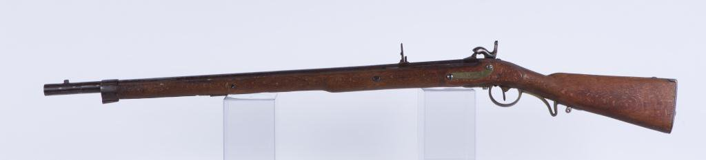 (19th c) PERCUSSION CAP RIFLE - 2