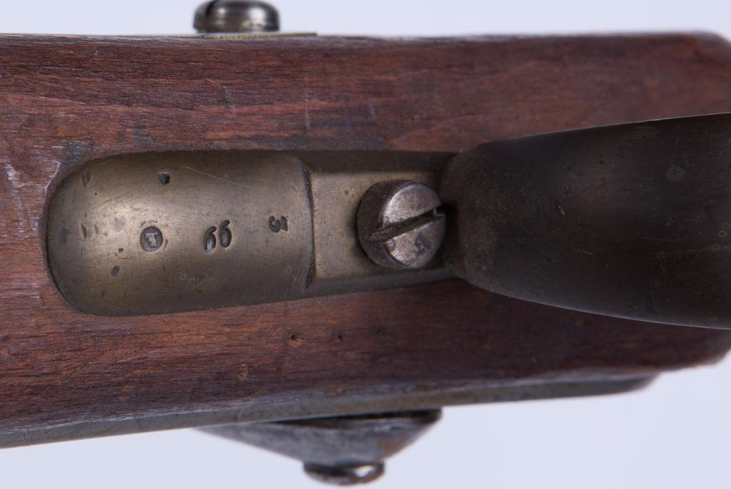 (19th c) PERCUSSION CAP RIFLE - 3