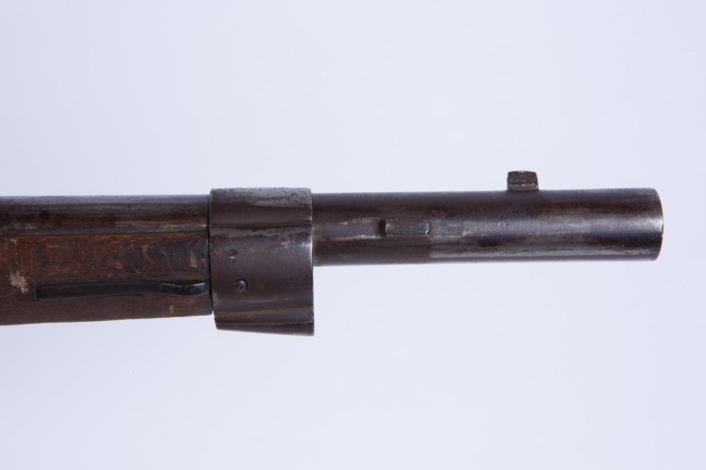 (19th c) PERCUSSION CAP RIFLE - 4