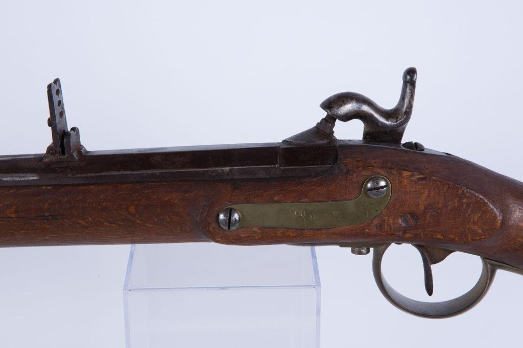 (19th c) PERCUSSION CAP RIFLE - 6