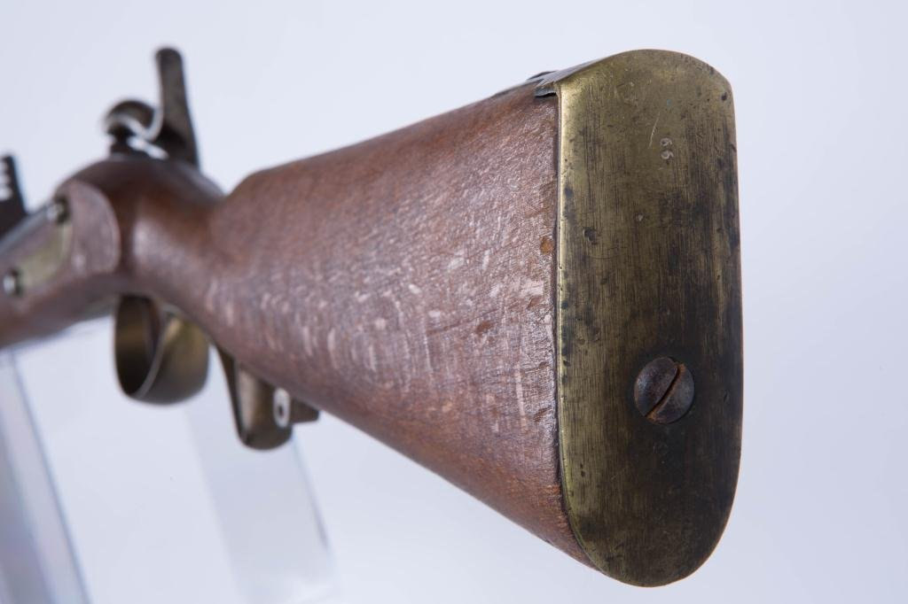 (19th c) PERCUSSION CAP RIFLE - 8