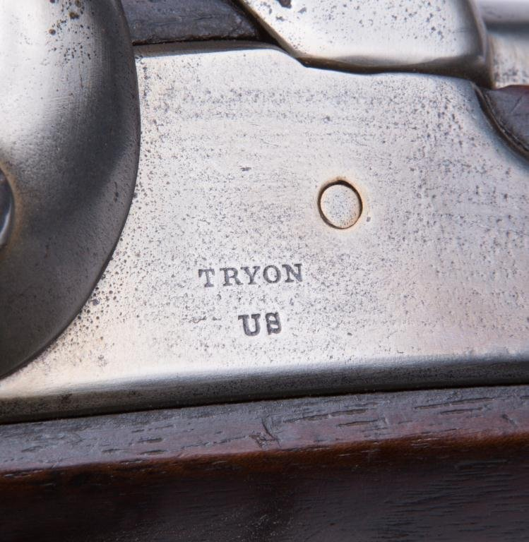 TRYON US PERCUSSION CAP MUSKET - 9
