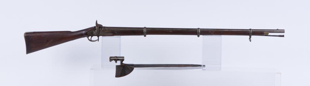 (19th c) BARNETT LONDON PERCUSSION CAP MUSKET - 6