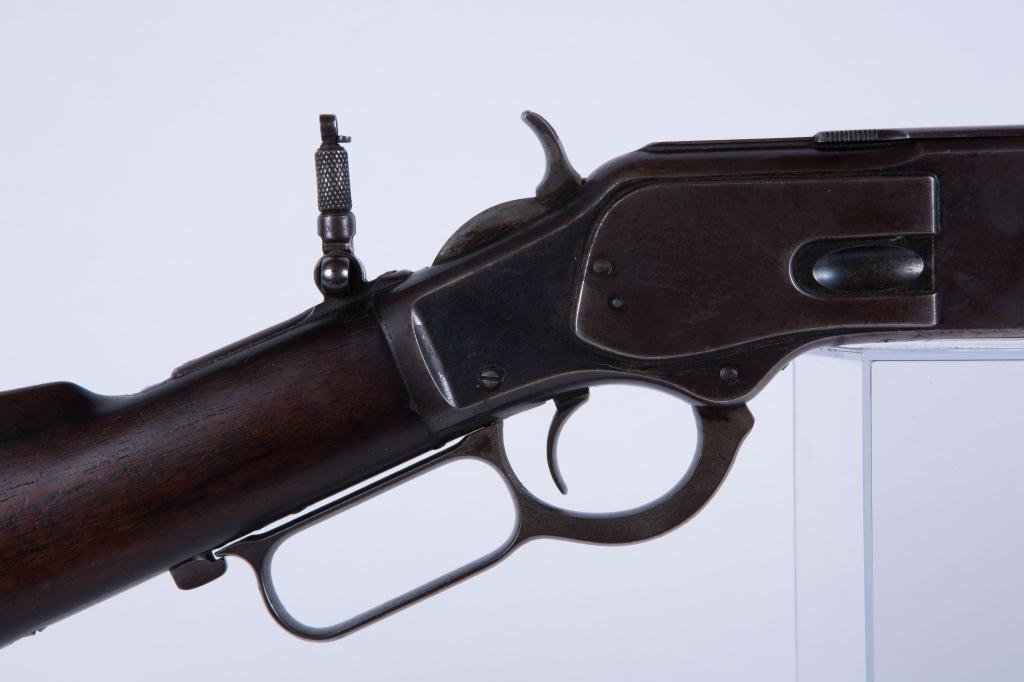 WINCHESTER MODEL 1873 ROUND BARREL RIFLE - 5