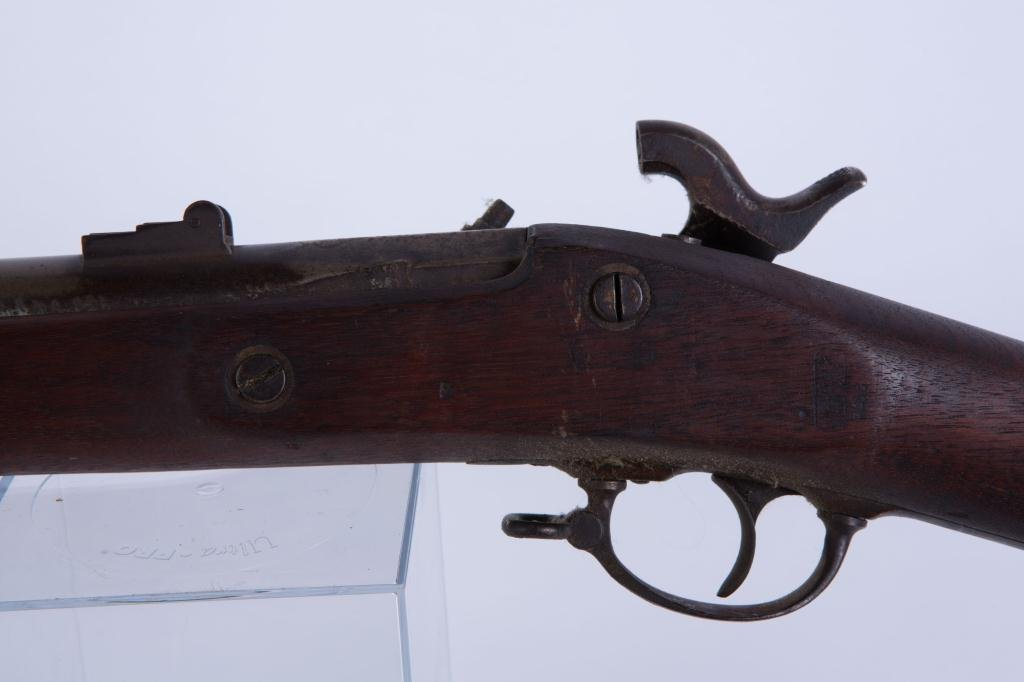 NORTH & CLEMENT US MODEL 1863 PERCUSSION CAP RIFLE - 2