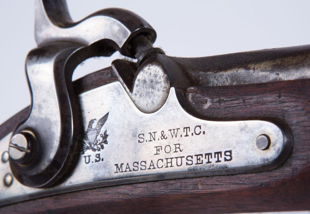NORTH & CLEMENT US MODEL 1863 PERCUSSION CAP RIFLE - 9