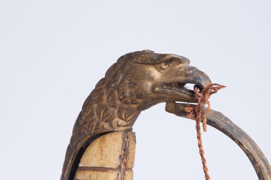 (Early 19th c) EAGLE POMMEL SWORD - 4