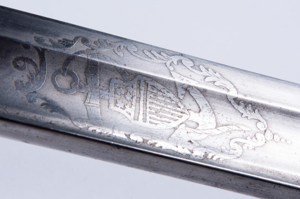 AMES US NAVY MODEL 1852 SWORD WITH SCABBORD - 5