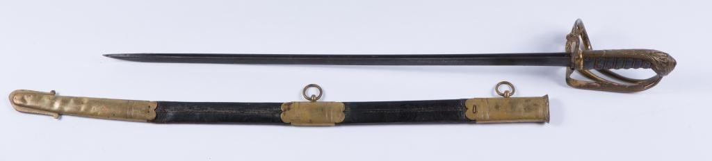 EARLY 1822 PATTERN INFANTRY OFFICER'S SWORD - 2