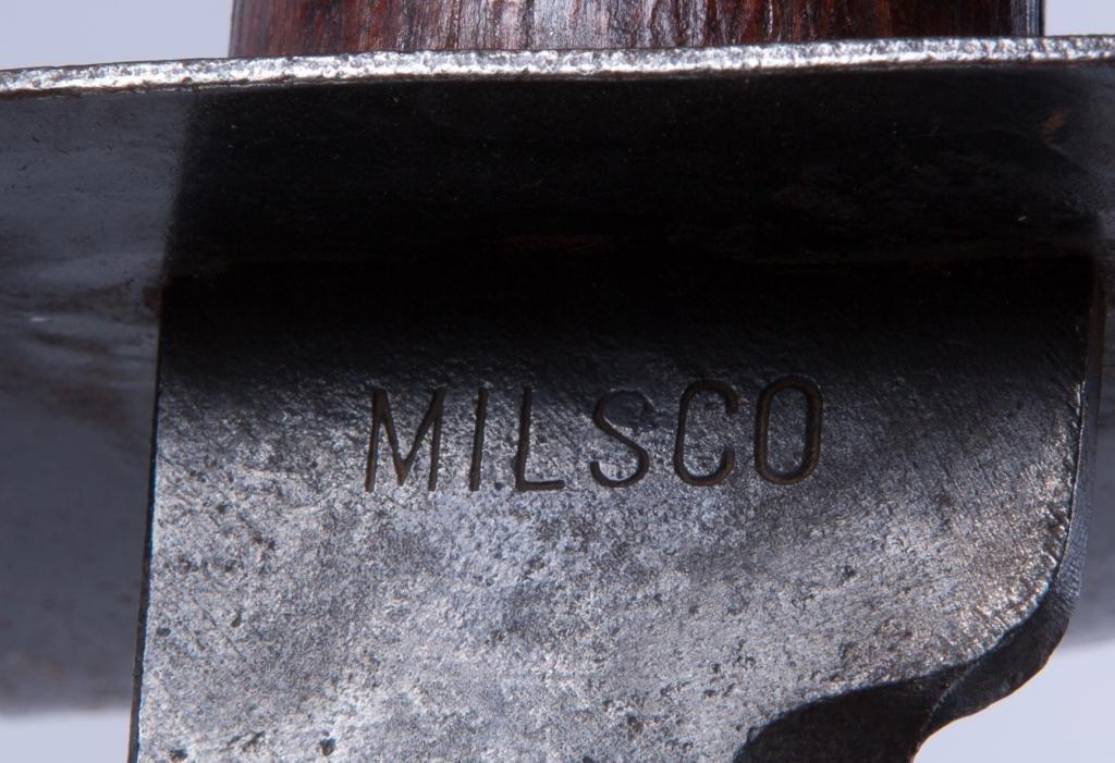 US NAVY WW II MILSCO DUTCH KLEWANG CUTLASS - 3