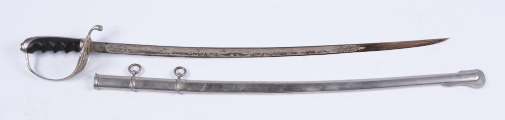HARDING UNIFORM & REGALIA CAVALRY SWORD c.1900