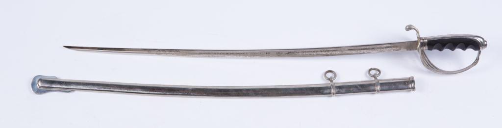 HARDING UNIFORM & REGALIA CAVALRY SWORD c.1900 - 2