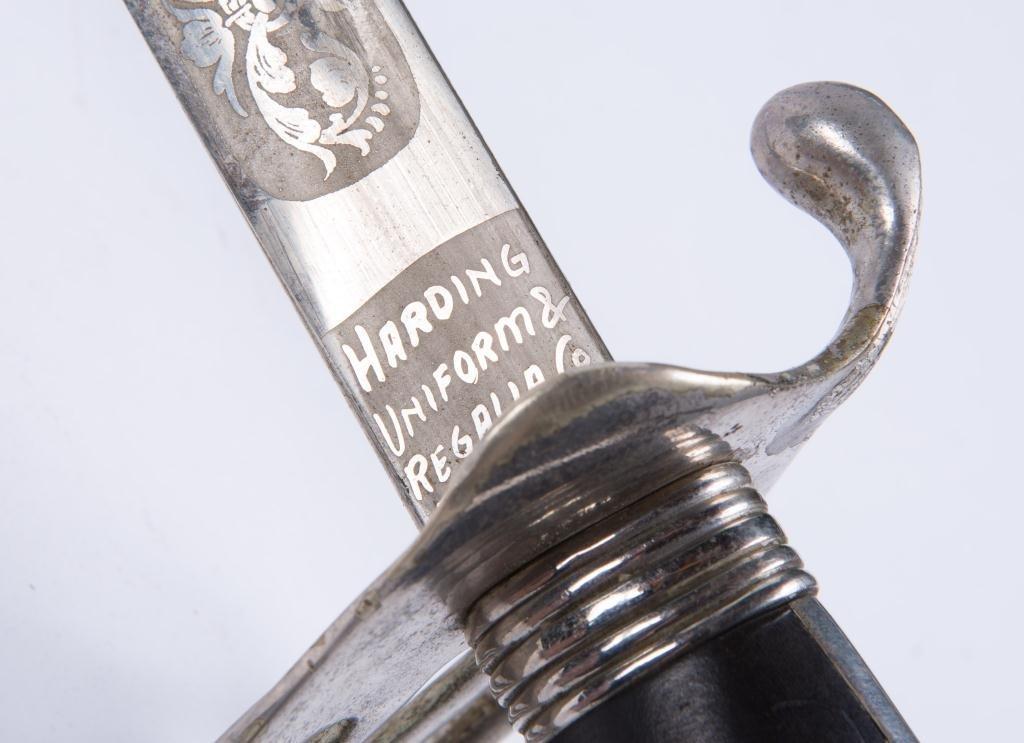 HARDING UNIFORM & REGALIA CAVALRY SWORD c.1900 - 5