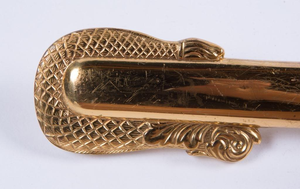 VIETNAM ERA MODEL 1850 NAVAL OFFICERS SWORD - 6