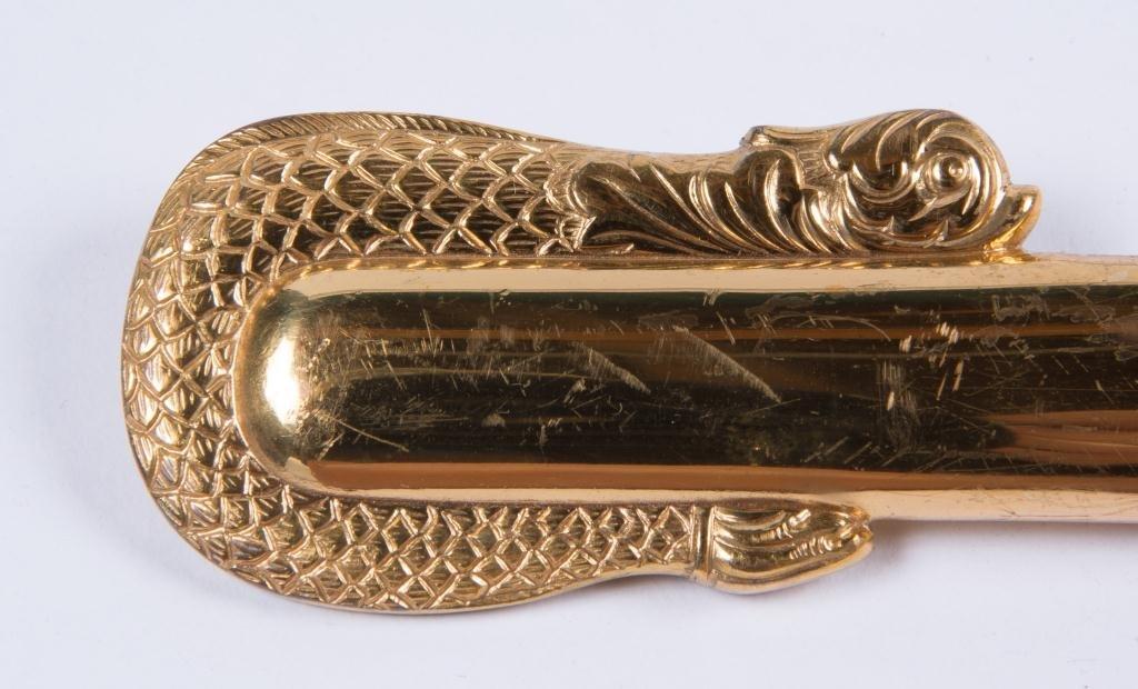 VIETNAM ERA MODEL 1850 NAVAL OFFICERS SWORD - 7