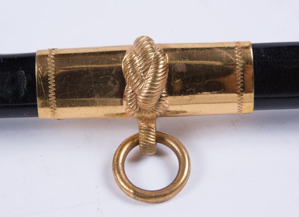 VIETNAM ERA MODEL 1850 NAVAL OFFICERS SWORD - 8