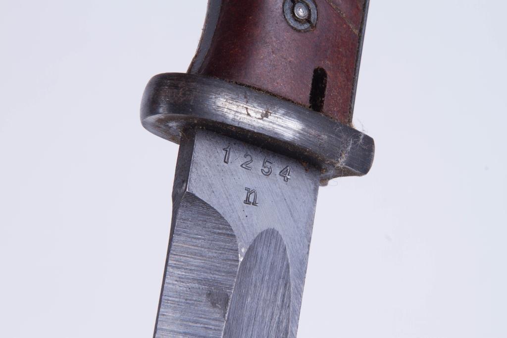 (2) WWII BAYONETS and CARTRIDGE BELT - 10