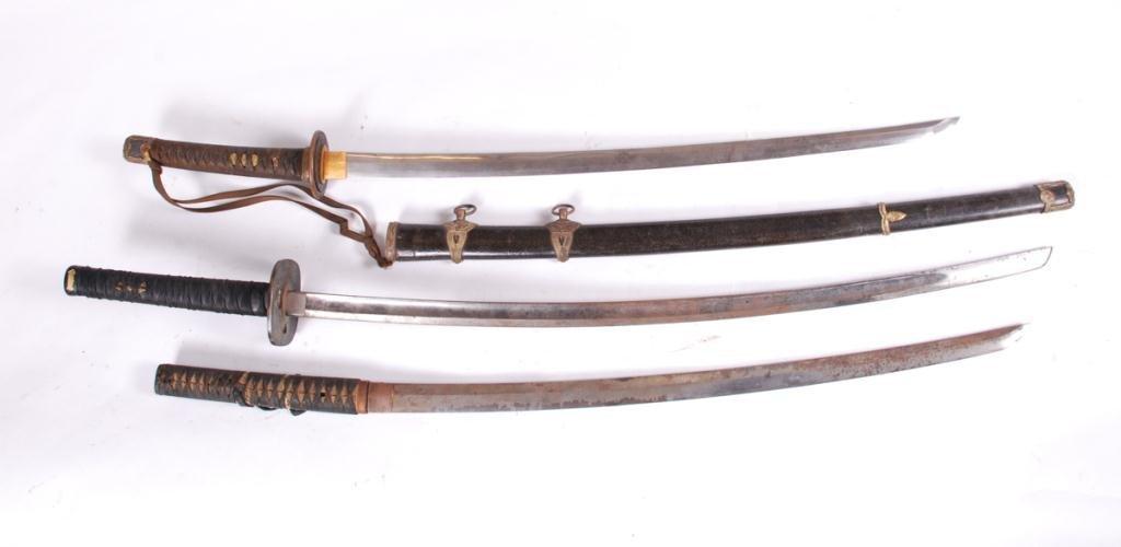 (3) JAPANESE SAMURAI SWORDS