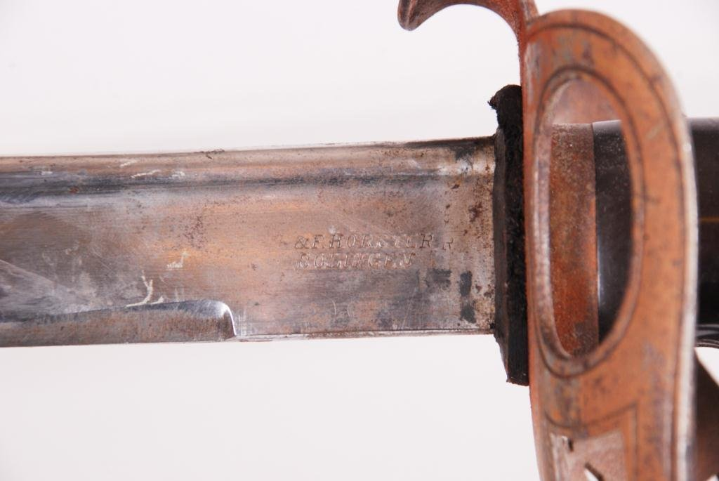 ANTIQUE GERMAN HORSTER SOLINGEN SWORD - 3