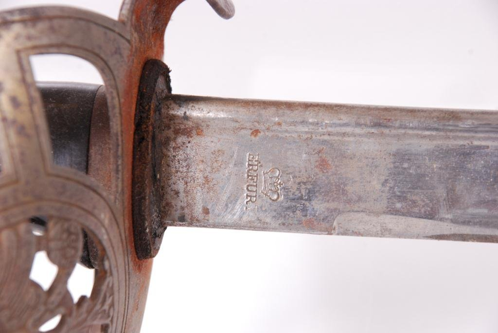 ANTIQUE GERMAN HORSTER SOLINGEN SWORD - 5