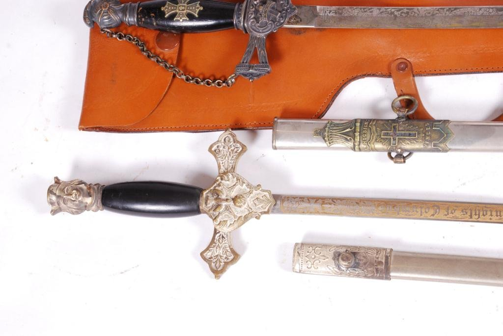 (2) FRATERNAL SWORDS and a THIRD - 5
