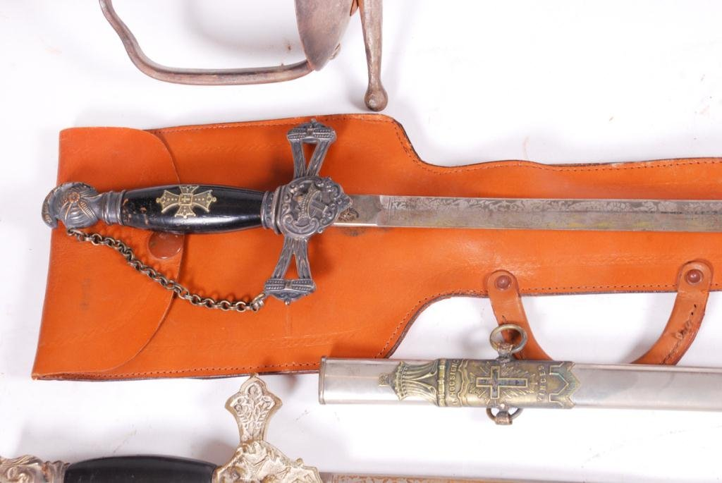 (2) FRATERNAL SWORDS and a THIRD - 6
