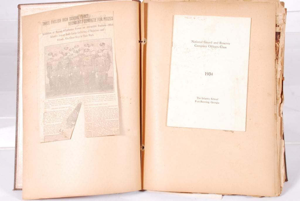 WWII SCRAPBOOK with (2) NAZI ARMBANDS - 5