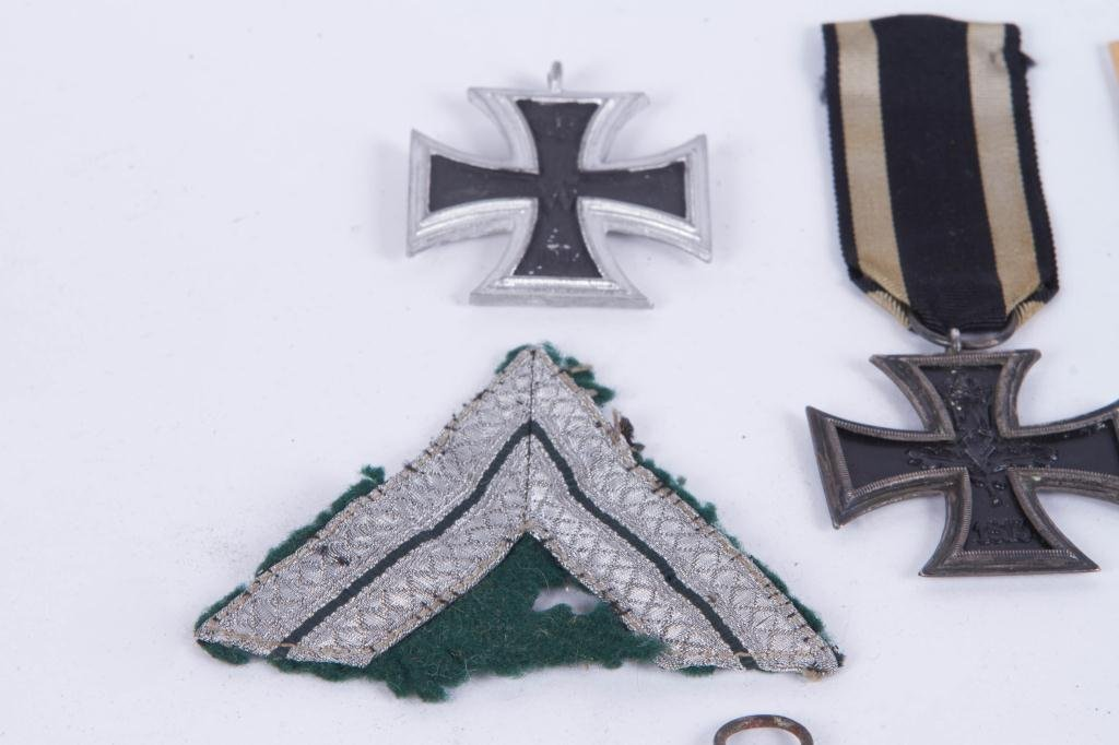 539(5) GERMAN IRON CROSSES and SILVER BULLION - 2