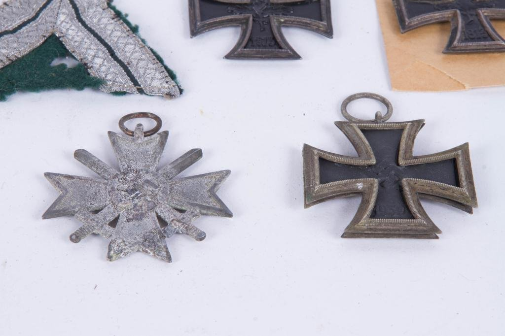539(5) GERMAN IRON CROSSES and SILVER BULLION - 5