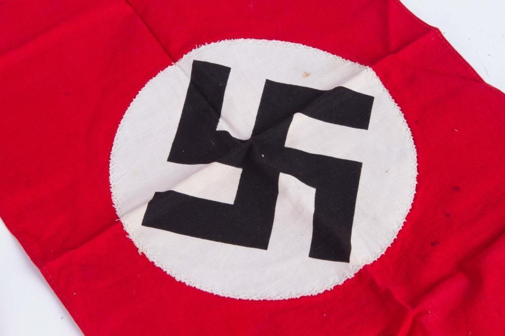 (3) WWII NAZI BANNERS - 3