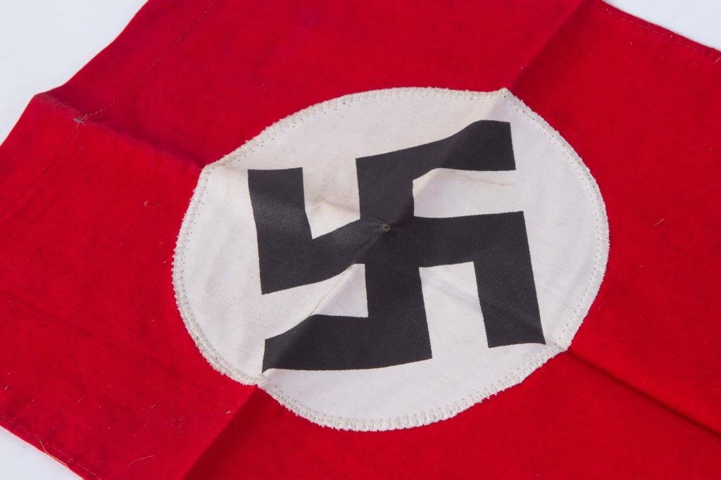 (3) WWII NAZI BANNERS - 4
