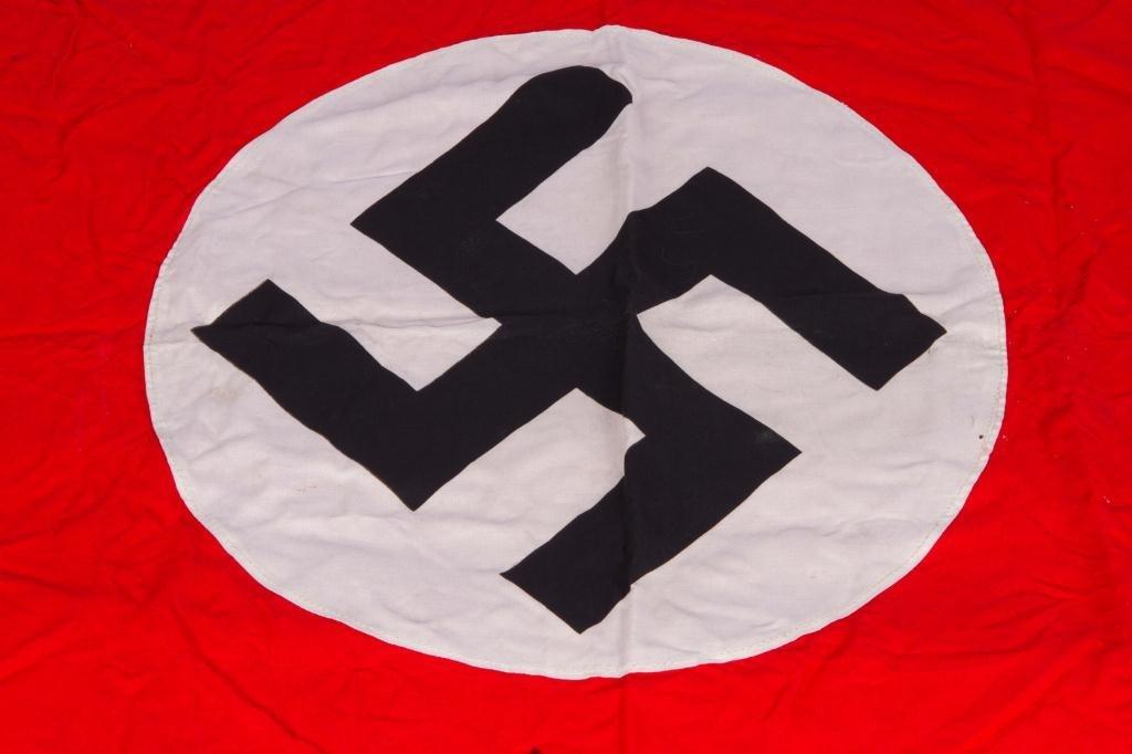 NAZI FLAG (OR BANNER) with FRINGE - 2