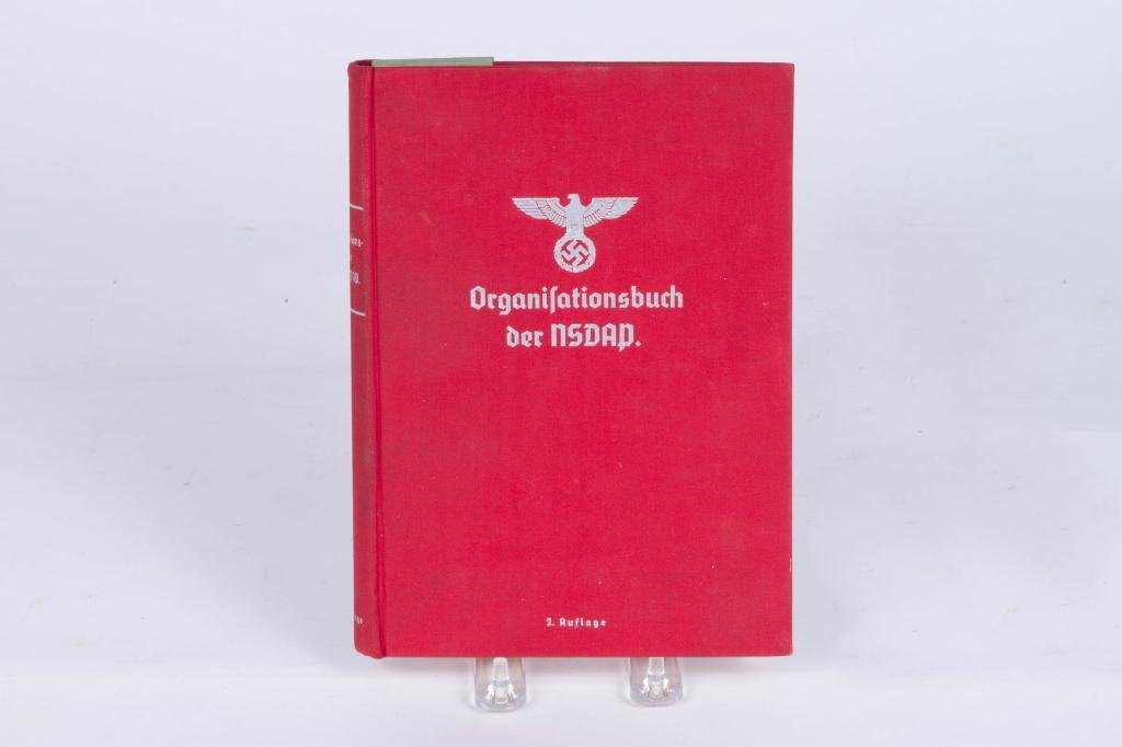 ORGANISATIONSBUCH DER NSDAP 1937 NAZI PARTY