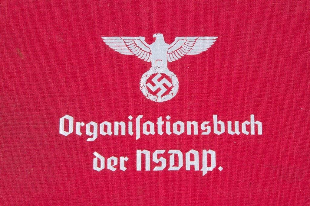ORGANISATIONSBUCH DER NSDAP 1937 NAZI PARTY - 5