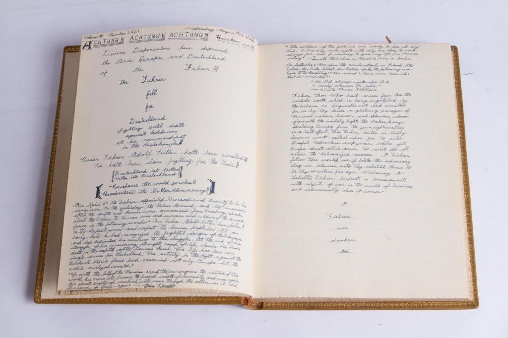 (3) EXTREMELY DETAILED WWII JOURNALS etc - 3