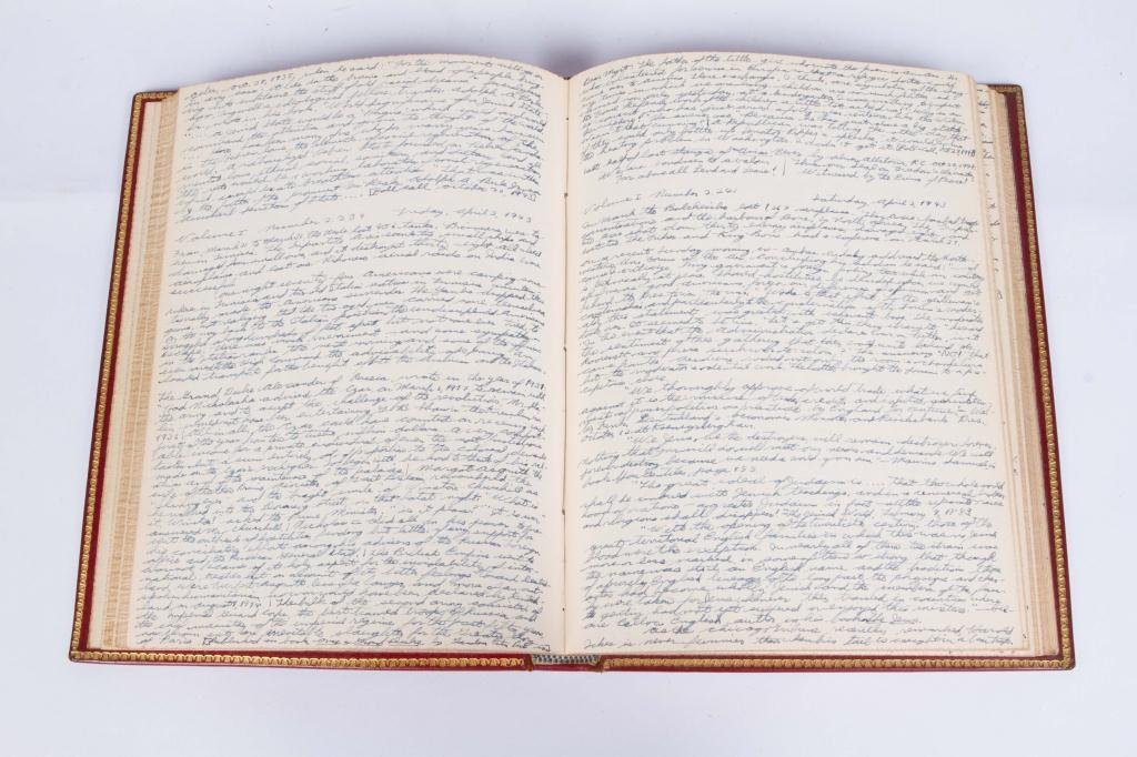 (3) EXTREMELY DETAILED WWII JOURNALS etc - 8