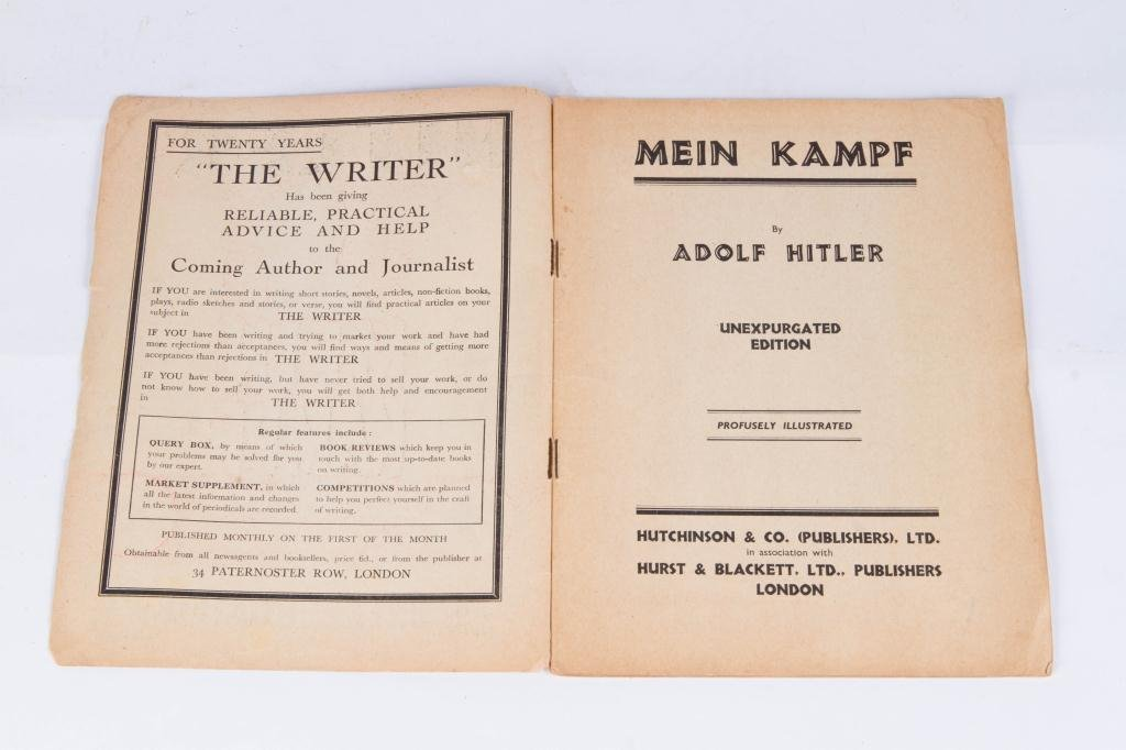 "HITLER'S ""MEIN KAMPF"" IN (18) WEEKLY PARTS - 3"