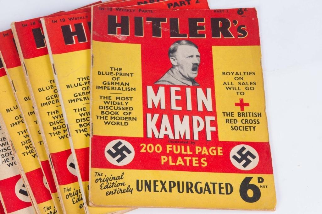 "HITLER'S ""MEIN KAMPF"" IN (18) WEEKLY PARTS - 5"