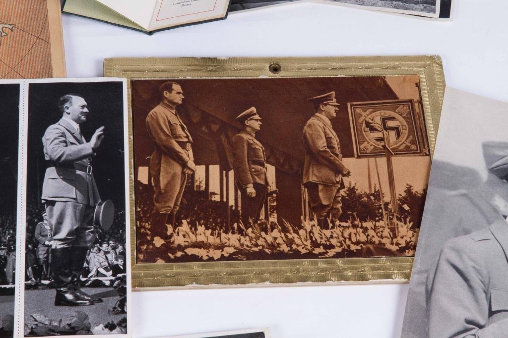 COLLECTION OF NAZI PERIOD PHOTOS AND CLIPPINGS - 5