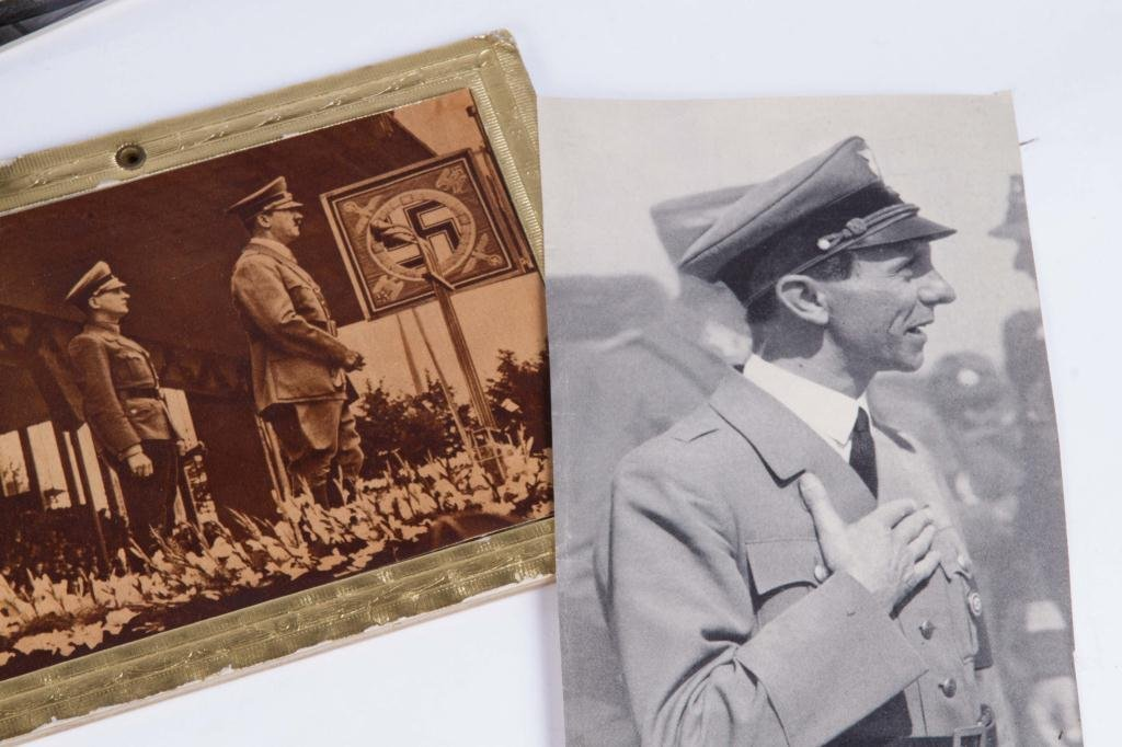 COLLECTION OF NAZI PERIOD PHOTOS AND CLIPPINGS - 6
