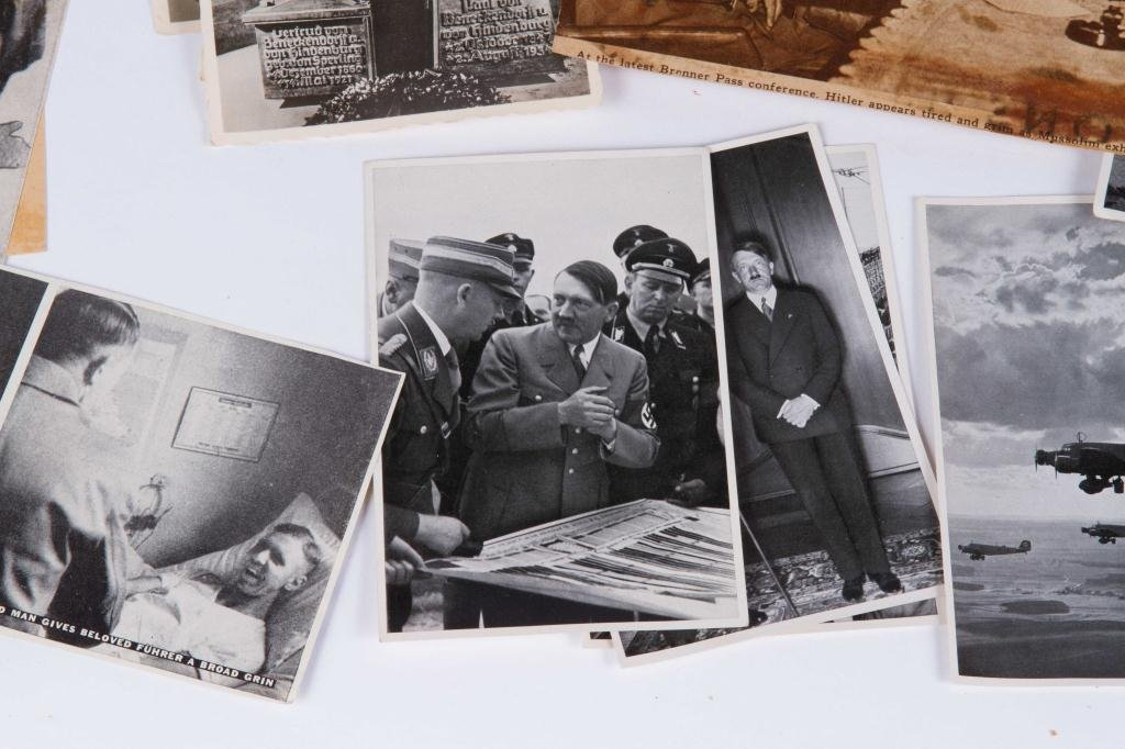 COLLECTION OF NAZI PERIOD PHOTOS AND CLIPPINGS - 8