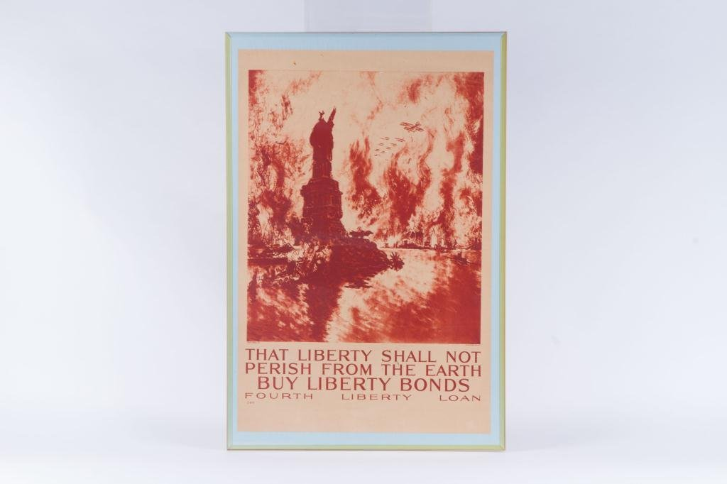 WWI LIBERTY BOND POSTER by JOSEPH PENNELL - 4