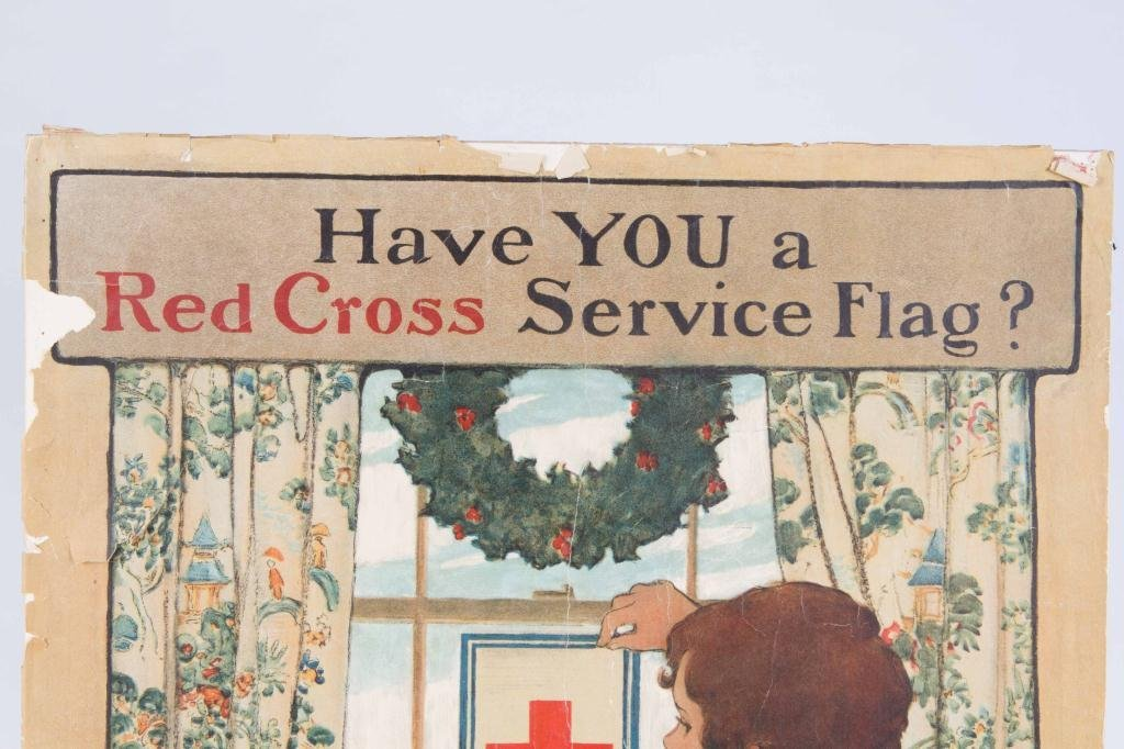 1918 JESSIE WILCOK SMITH RED CROSS POSTER - 4