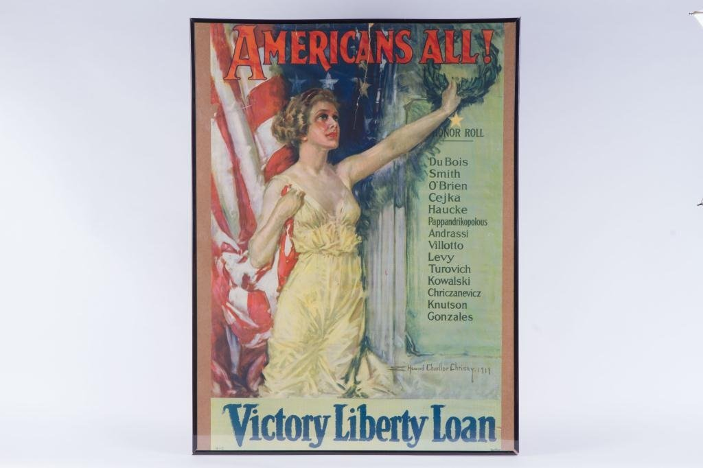 HOWARD CHANDLER CHRISTY VICTORY LIBERTY LOAN WWI - 4