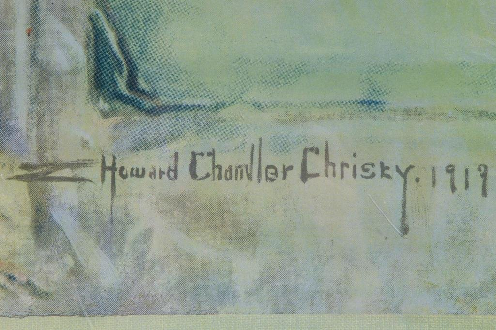 HOWARD CHANDLER CHRISTY VICTORY LIBERTY LOAN WWI - 6