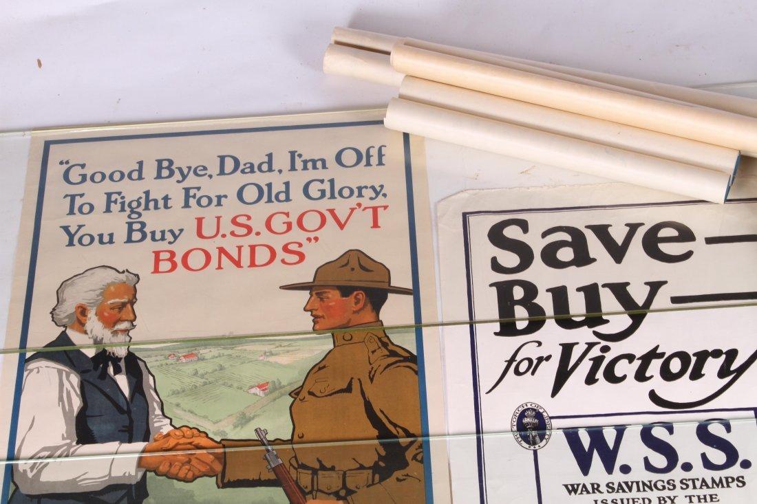 (8) WWI US LIBERTY BOND POSTERS - 2